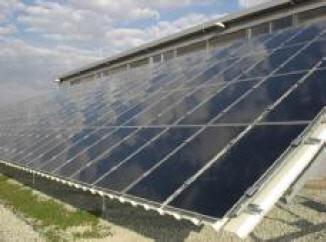 Carport – Solarmodulfläche mit First Solar-Modulen