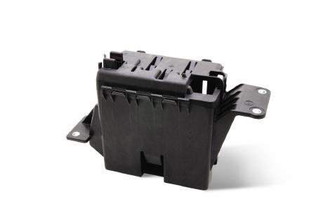 Pöppelmann K-TECH®: Für die technischen Kunststofflösungen, z. B. Batteriegehäuse, werden seit über 25 Jahren zu einem großen Teil auch Recycling-Materialien eingesetzt