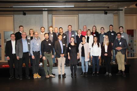 Beim Club-Event konnten sich die Stipendiaten mit ihren Stiftern austauschen © Hochschule Aalen   Carolin Fischer