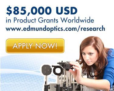 Edmund Optics 2013 European Research & Innovation Award