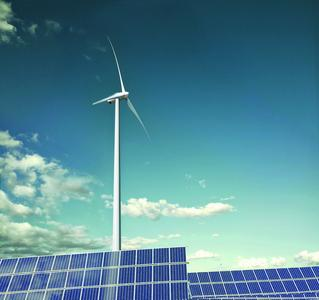 Leistungselektronik findet u. a. bei den Erneuerbaren Energien z. B. in Windrädern Anwendung