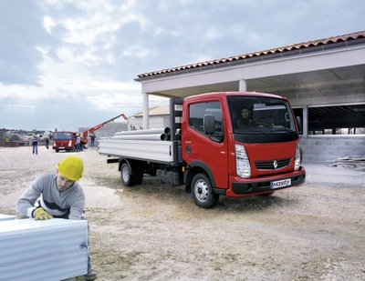 Der Renault Maxity – jetzt auch mit Sechsgang-Automatikgetriebe