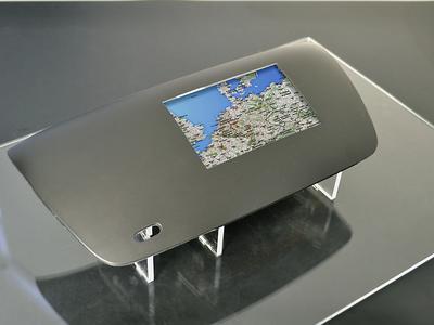 3D Automotive Multi Touch Panel - Pure Design Button-free