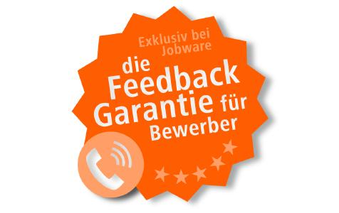 Bei Jobware gibt es die Feedback-Garantie für Bewerber