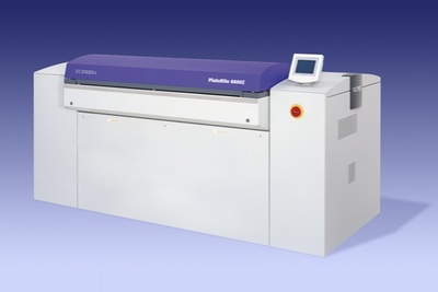 Screen PlateRite 8800 CTP series now available with punch less option