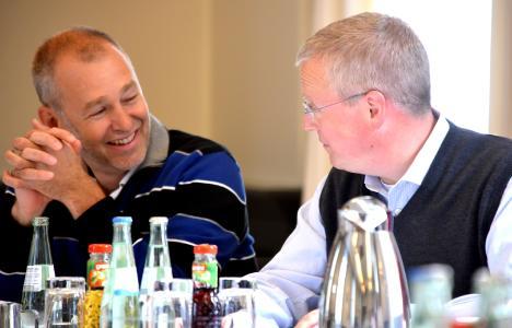 Matthias Albrecht im Gespräch mit Dirk Franzmeyer