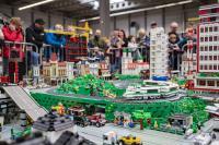 Lego-Stadt von Tibor Hoffmann - LEmobilGO (c)Michael Kremer/SnapArt