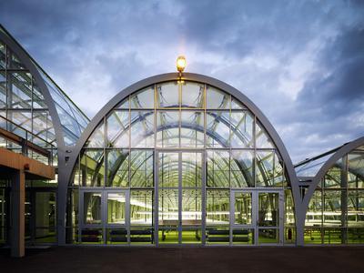 Zweiter Preis der Kategorie Architektur: Forschungsgewächshaus Campus Riedberg von Königs Architekten