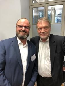 Ralf Hager and Prof. Dr. Nonnenmacher