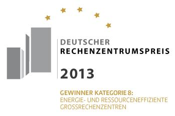Deutscher Rechenzentrumspreis 2013 - Logo