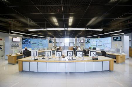 eyevis videowalls in a control room