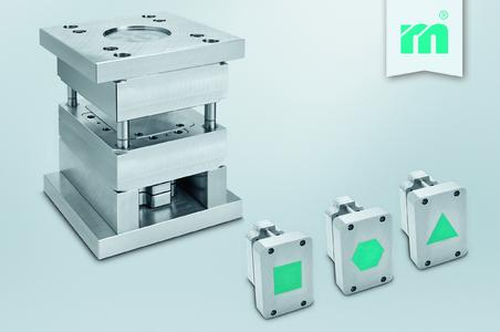 The tried and trusted Meusburger change moulds - now measuring up to 296 x 346 mm (Photo: Meusburger)