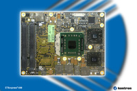 Kontron Introduces first COM Express Compliant ETXexpress® Computer-On-Module with AMD 690 Chipset