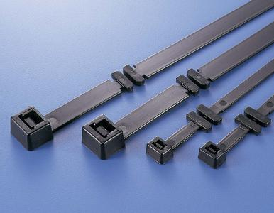 Fixing solution for fast installation of cables in cable trays