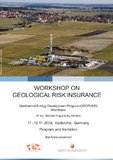 [PDF] Press Release: GeoFund Workshop on Geological Risk Insurance