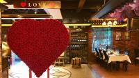 Das liebevoll dekorierte Restaurant St. Louis in China