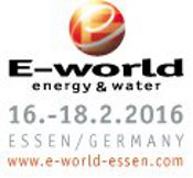 E-world energy & water 2016