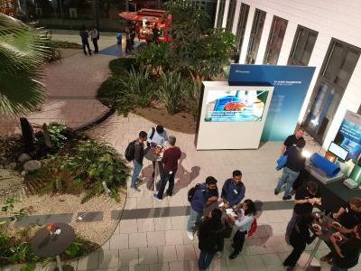 Circa 130 Studiernde kamen zur Karrierenacht © Fraunhofer ITWM