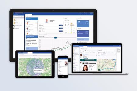 Ein Bild sagt mehr als 1.000 Worte: Geschäftsdaten- und Geoanalysen, interaktive Charts etc. steigern den CRM-Nutzen.