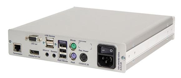 DP-HR-Module der digitalen KVM-Matrix