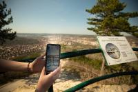 Virtuelles Eiszeit-Panorama auf dem SaurierPfad Jena