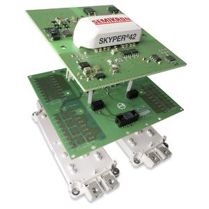 SKYPER 42 boasts three times the service life of standard drivers for use in inverter systems with outputs of up to 1.5MW