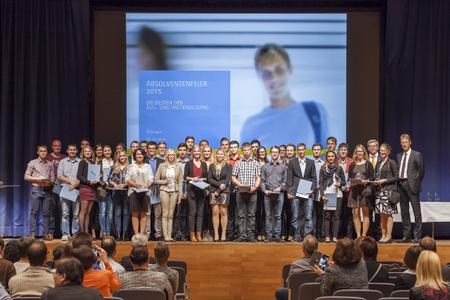IHK-Absolventenfeier Hohenlohekreis im Herbst 2015
