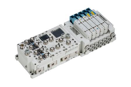 Die Feldbussysteme und Gateway-Units der EX-Serie sind mit zahlreichen Feldbusprotokollen ausgerüstet. Neben EtherNet-basierten Protokollen werden alle gängigen Protokolle wie PROFIBUS/PROFINET, CC-Link oder POWERLINK, ebenso wie IO-Link unterstützt