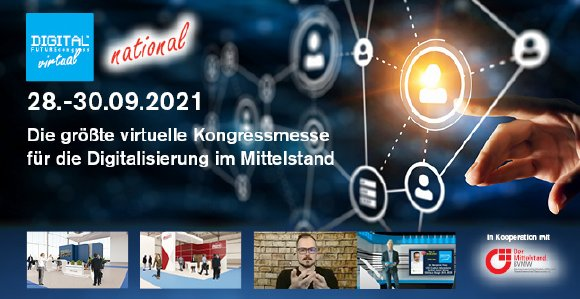 Die bundesweite Austausch- und Netzwerkplattform für Mittelständler zu digitaler Transformation, Prozessoptimierung und neuen Geschäftsmodellen