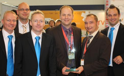 Von links: A. Heyne (shopware AG), H. Bolte (United Online Services GmbH), S. Heyne (shopware AG), T. Buskasper (mabito.com), M. Strotmann (mabito.com), P. Lehr (shopware AG)