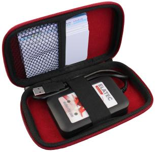 Auf der embedded world präsentiert Elatec RFID Systems das Analyse-Tool TechTracer Lite / Bildquelle: Elatec