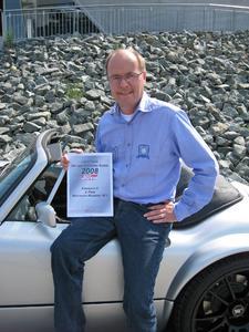 Wiesmann Roadster MF3 unter den Top 3 bei der Leserwahl des Fachmagazins sport auto