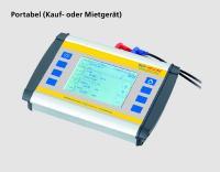 Clamp-on Ultraschallzähler portabel (auch als Mietgerät) - Temporäre Anwendung zur punktuellen Verbrauchsmengenkontrolle - Zur Ermittlung des geeigneten, fest zu installierenden Messgeräts
