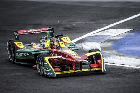 Formel-E-Fahrzeug der Saison 2016/2017 vom deutschen Team ABT Schaeffler Audi Sport / Bildquelle: Würth Elektronik eiSos