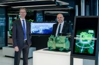 Both of them start their new positions on 1 April 2021: Martin Büchsel is the new Member of the Executive Board and Chief Sales and Marketing Officer at BITZER (left) and Gianni Parlanti is taking over as the new Managing Director of BITZER Italia and Green Point Servizi Industriali