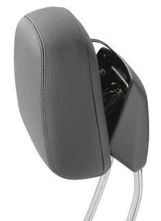 Active head restraints prevent whiplash / Production system with top processing security