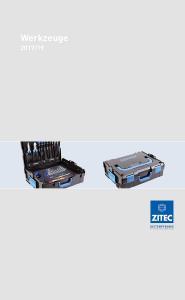 Cover ZITEC Katalog Werkzeuge 2017/2019