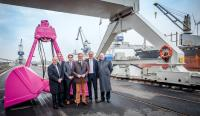 New quay opened at the industrial port in Bremen