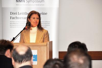 Almuth Witthaus, Niedersächsisches Ministerium für Wirtschaft, Arbeit und Verkehr begrüßte vertretend für Minister Lies