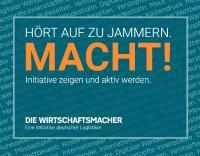 DIE WIRTSCHAFTSMACHER – Eine Initative deutscher Logistiker