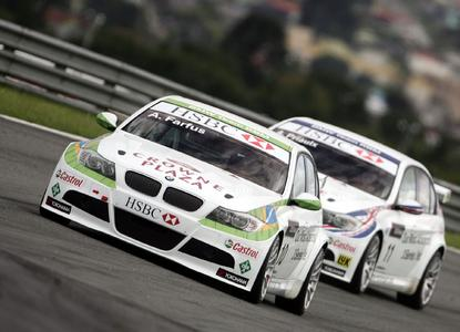 The Schaeffler Group supports the BMW team with Andy Priaulx und Augusto Farfus in the World Touring Car Championship (WTCC)