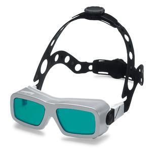 LASERVISIONs Kopfhalterung mit ALL STAR Laserschutzbrille