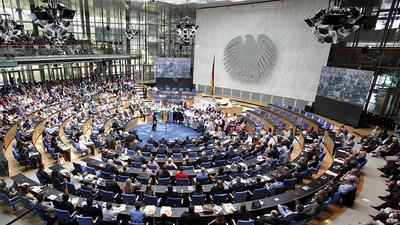 The plenary chamber was full for the opening of the Global Media Forum 2013 in Bonn