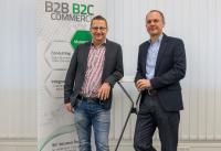 Das eCommerce-Experteam, das für Speed4Trade bei Fachevents die Trends ausmachen will: Director Costumer Consulting & Services Christian Jakob und Director Business Development Wolfgang Vogl (von links).