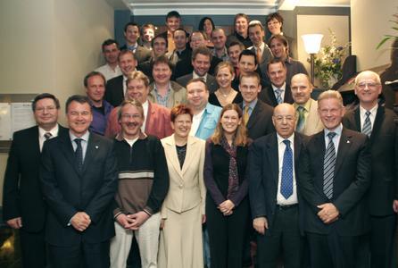 Die Jubilare und Rentner 2009 der WITTENSTEIN AG