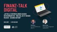 Die creditshelf AG lädt zum FINANZ-TALK Digital. In einer spannenden Präsentation werden Mark Elser (Country Head Germany, iBanFirst), und Stefan Hnida (Leiter Partnermanagement, creditshelf)  am 09. November um 11:00 Uhr über die Entwicklungen an den Devisenmärkten sprechen.