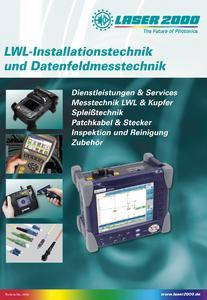 "Katalogtitel ""LWL-Installations- und Datenfeldmesstechnik"""