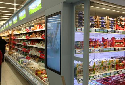 Intelligent Electronic Shelf Labels ELS - SHELFVISION LCDs for POS