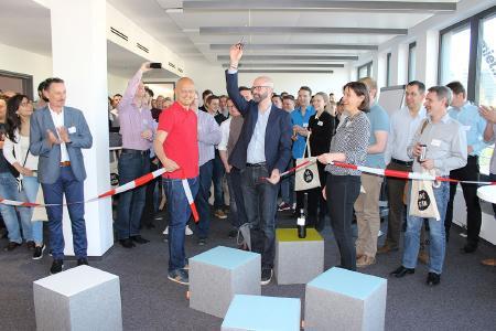 it-economics, Eröffnung neue Firmenzentrale München