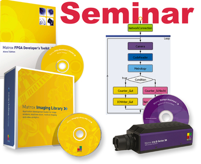 Machine Vision - Matrox Imaging - free technical seminars